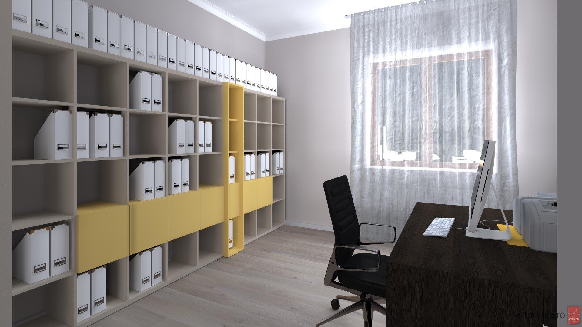 Design interior birou contabilitate Oradea