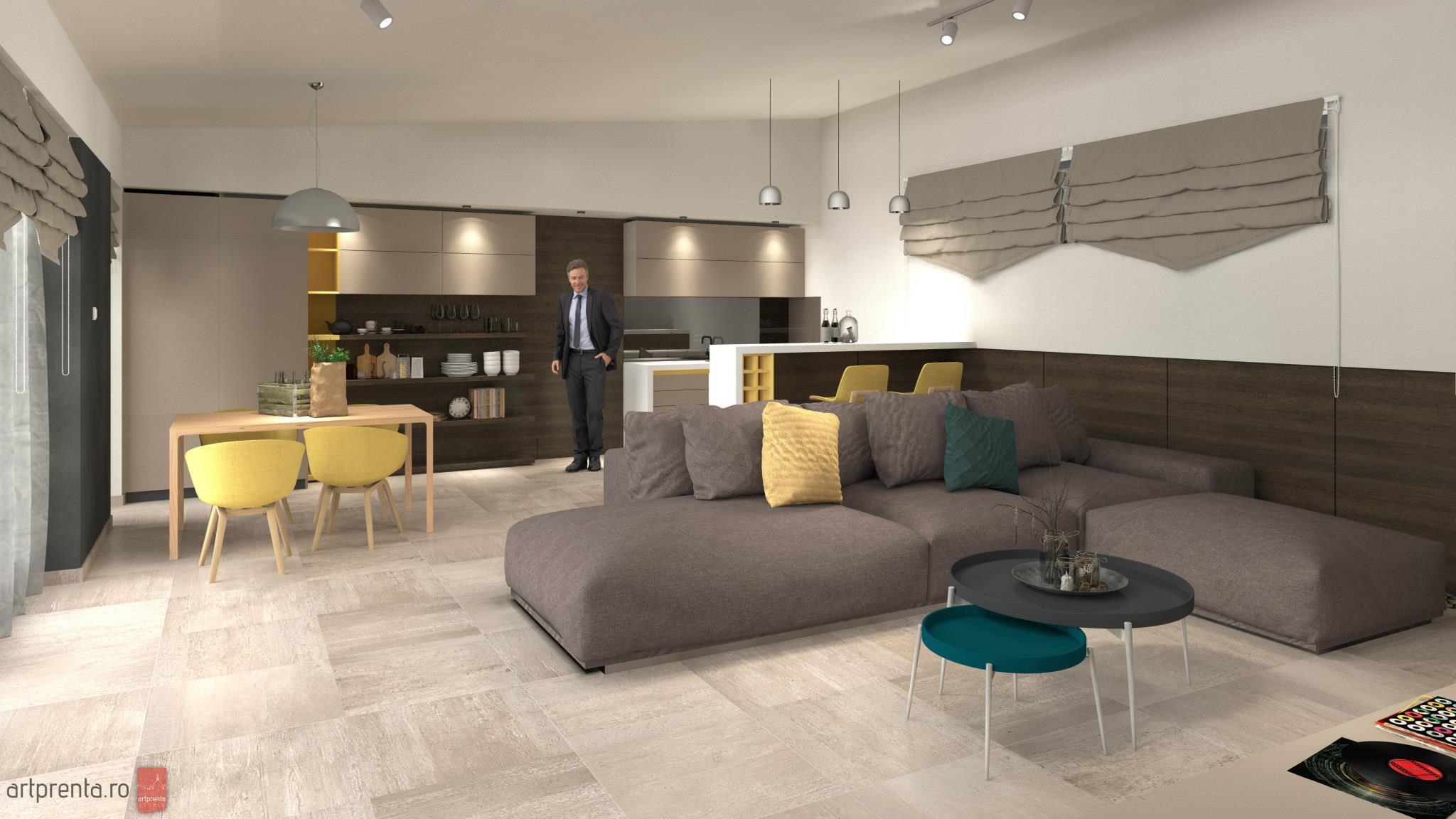 Design interior casa V – cartier Grigorescu Oradea