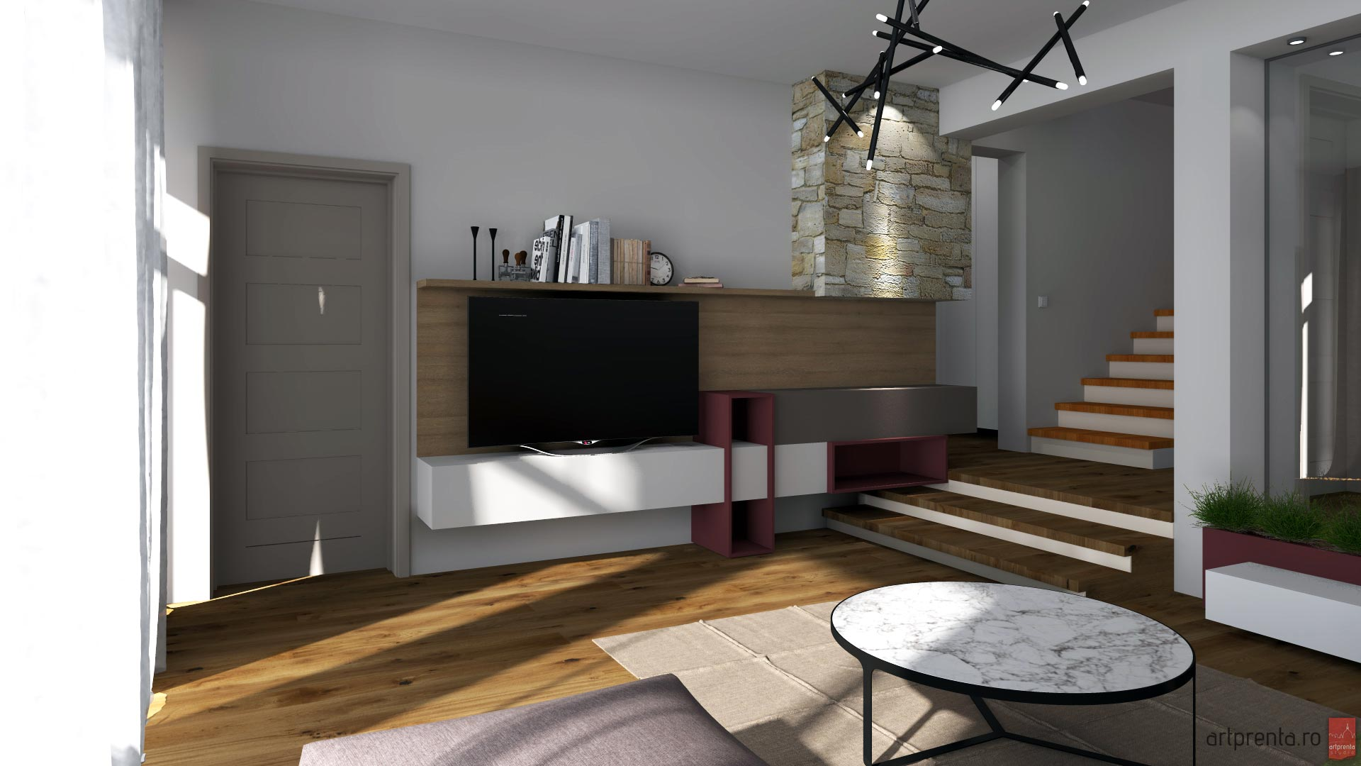 Design interior casa B. – Santandrei